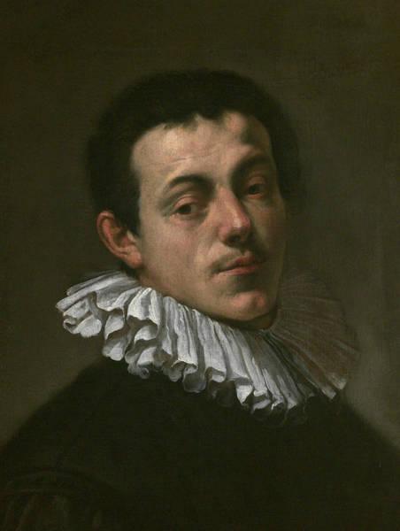 Wall Art - Painting - Portrait Of Painter Josef Heintz by Hans von Aachen