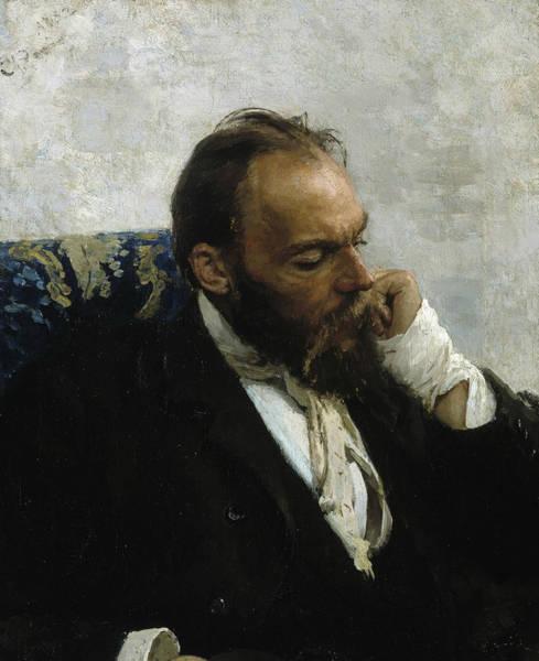 Painting - Portrait Of Professor Ivanov by Ilya Repin