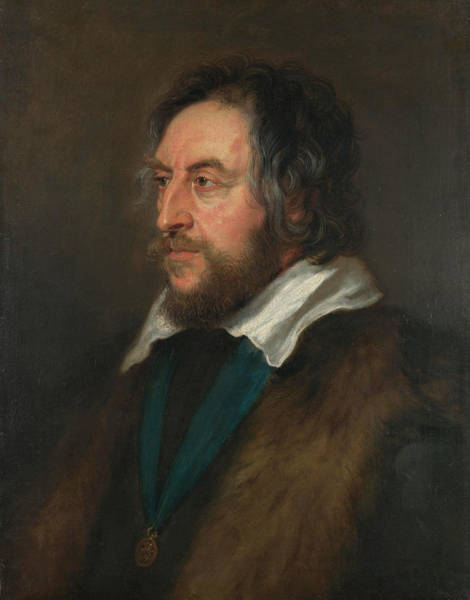 Nobility Painting - Portrait Of Thomas Howard, 2nd Earl Of Arundel by Peter Paul Rubens