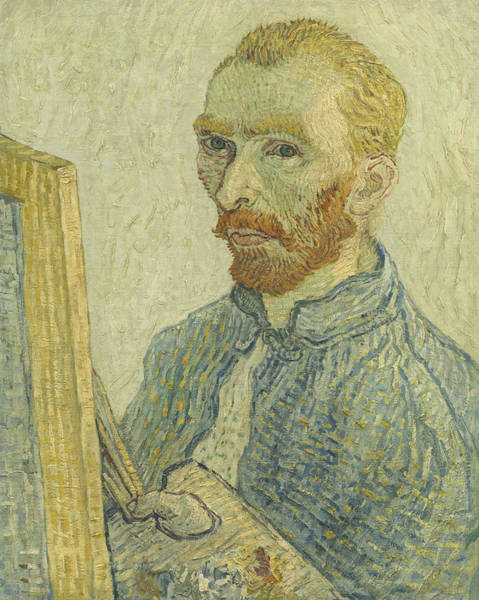 Painting - Portrait Of Vincent Van Gogh by Imitator Of Vincent Van Gogh