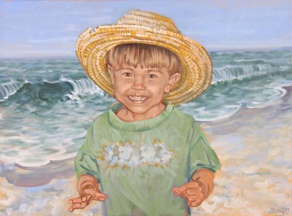 Painting - Ocean Boy by Gary M Long