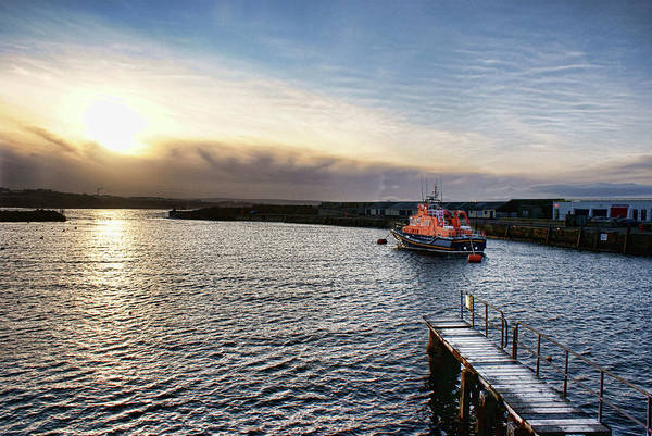 Photograph - Portrush Rnli Lifeboat by Colin Clarke
