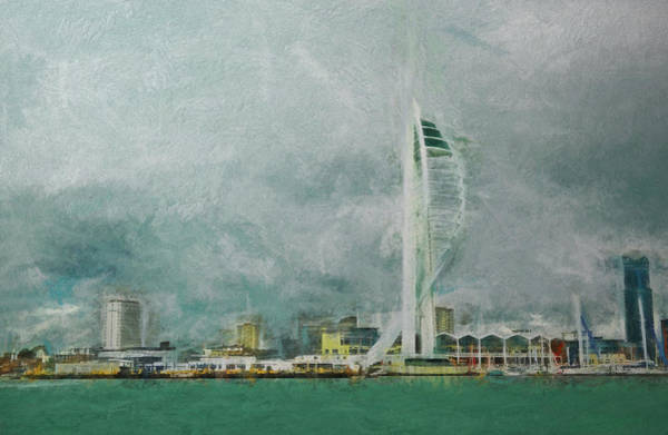 Spinnaker Photograph - Portsmouth by Sharon Lisa Clarke
