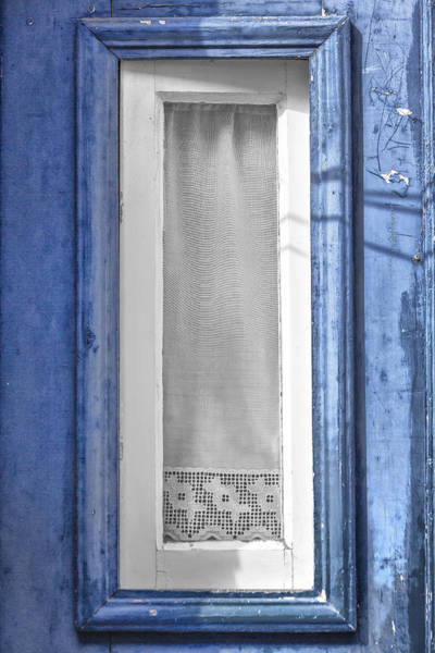 Photograph - Portuguese Window by Edgar Laureano