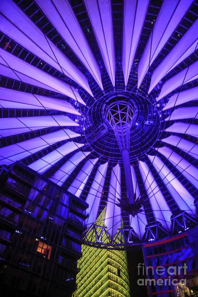 Sony Center Photograph - Potsdamer Platz, Berlin, Germany  by Vladi Alon