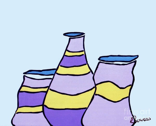 Painting - Pottery Class by John Bowers