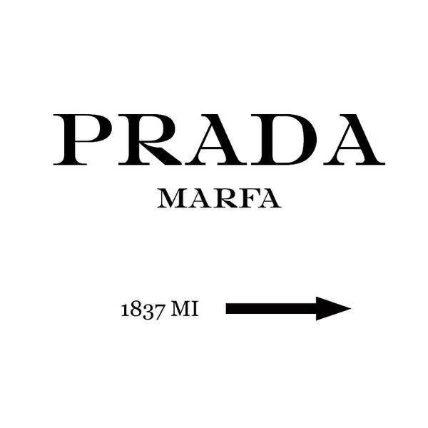 Prada Digital Art - Prada Marfa Mileage by Edit Voros