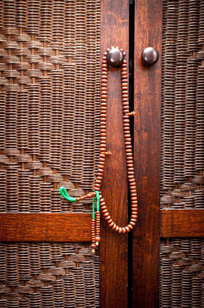 Pattern Wall Art - Photograph - Prayer Beads by Tom Gowanlock