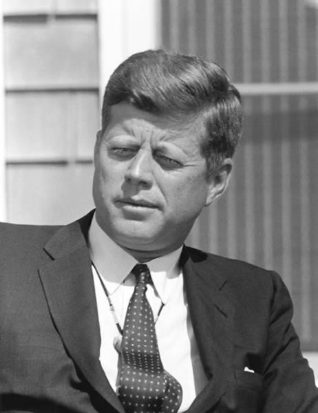 Wall Art - Photograph - President John Kennedy by War Is Hell Store