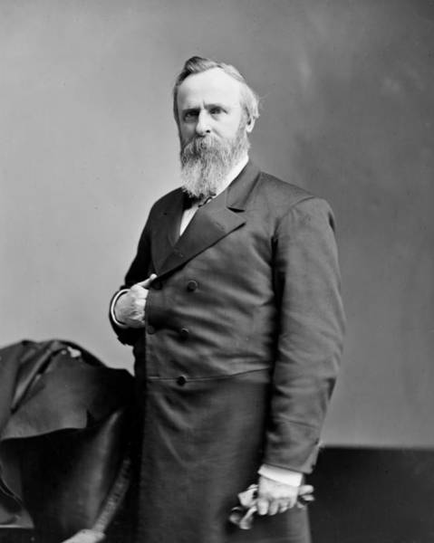 Wall Art - Photograph - President Rutherford B Hayes by International  Images