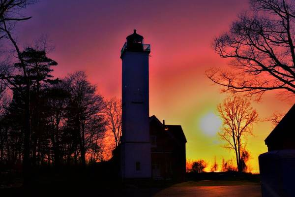 Wall Art - Photograph - Presque Isle Lighthouse  by Shelley Smith