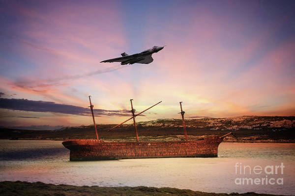 The Falklands Digital Art - Protector Of The Realm by J Biggadike