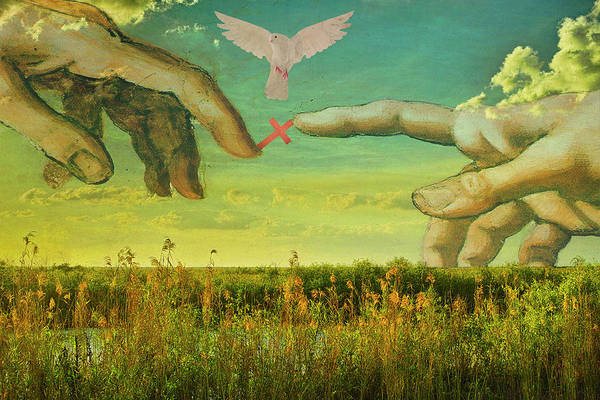Mixed Media - Psalm 19 by Roberto Aloi