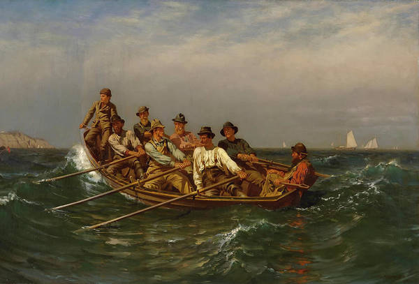 Pulling Painting - Pull For The Shore by Mountain Dreams
