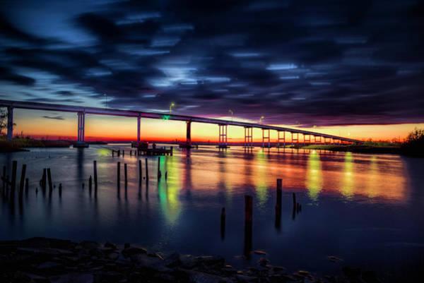Photograph - Pungo Ferry Bridge by Pete Federico