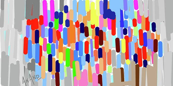 Wall Art - Digital Art - Pure Abstraction-8 by Anand Swaroop Manchiraju