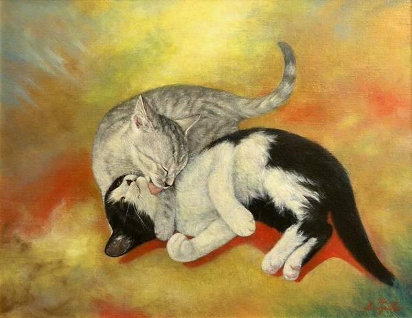 Love Painting - Pure Love by Hiroyuki Suzuki