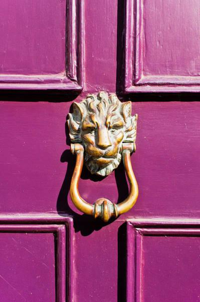 Wall Art - Photograph - Purple Door by Tom Gowanlock