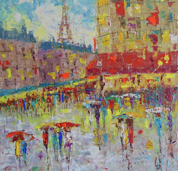 Painting - Quartier Latin Paris by Frederic Payet
