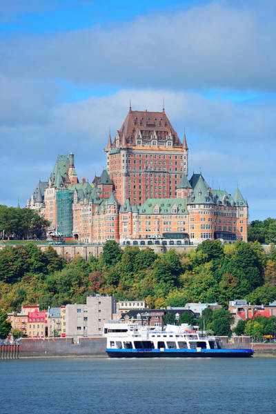 Wall Art - Photograph - Quebec City Skyline by Songquan Deng