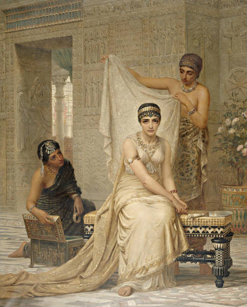 Wall Art - Painting - Queen Esther by Edwin Long
