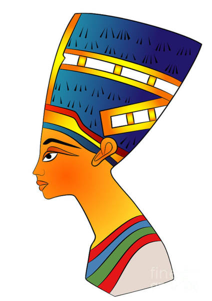 Wall Art - Digital Art - Queen Of Ancient Egypt by Michal Boubin