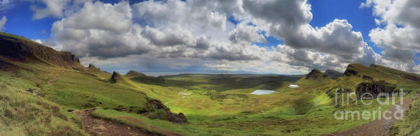 Photograph - Quiraing And Trotternish - Panorama by Maria Gaellman