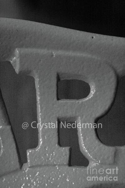 Photograph - R-7 by Crystal Nederman