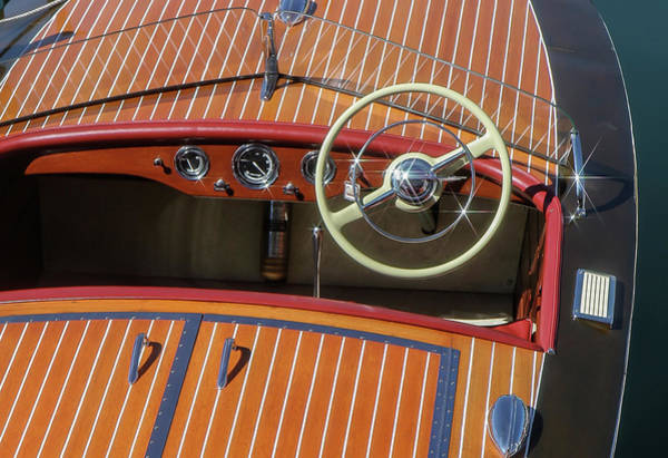 Photograph - Chris Craft Racing Runabout by Steven Lapkin