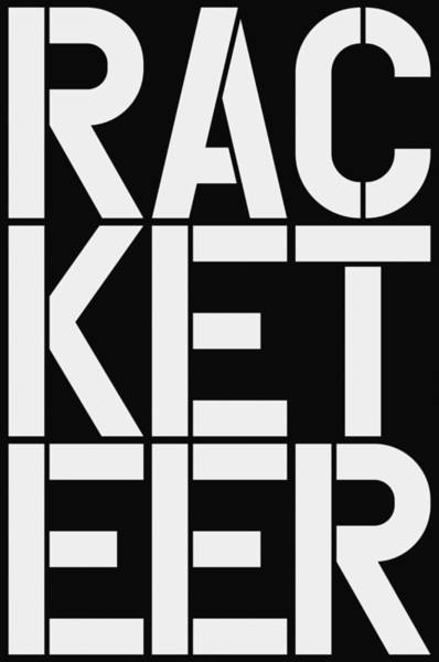 Wall Art - Painting - Racketeer by Three Dots
