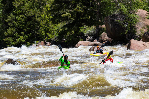 Photograph - Rafting The Numbers by Steve Krull