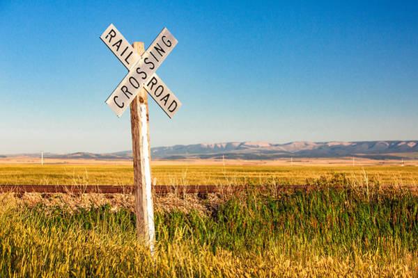 Photograph - Railroad Crossing by Todd Klassy