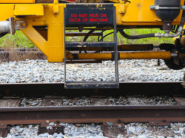 Photograph - Railroad Equipment by Dart and Suze Humeston