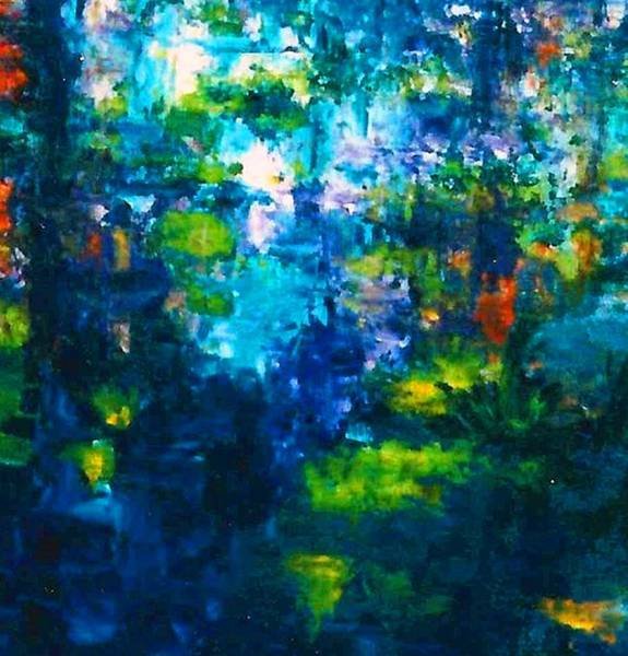 Lyle Painting - Rain by Lord Frederick Lyle Morris - Disabled Veteran