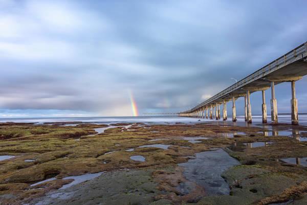 Rainbow On The Horizon Art Print