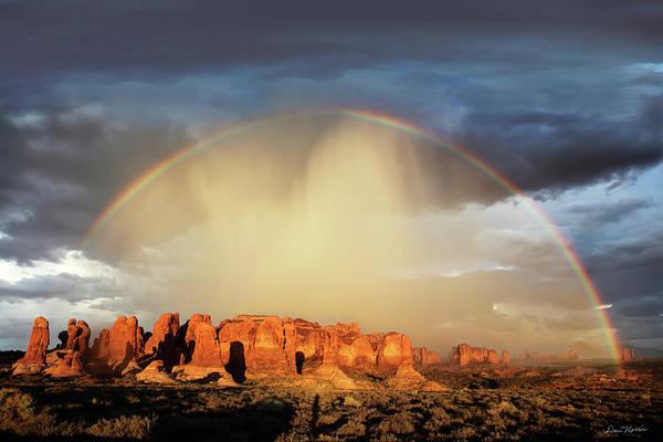 Wall Art - Photograph - Rainbow Over Garden Of Eden by Dan Norris