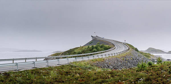 Photograph - Rainy Day On Atlantic Road by Dmytro Korol