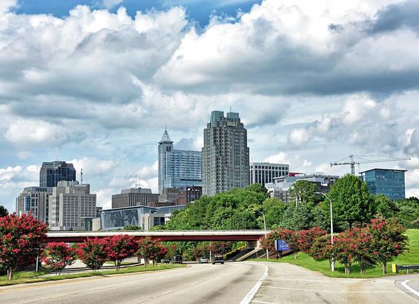 Downtown Raleigh Wall Art - Photograph - Raleigh - North Carolina by Brendan Reals