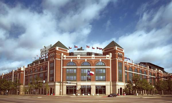 Photograph - Rangers Ballpark In Arlington by Joan Carroll