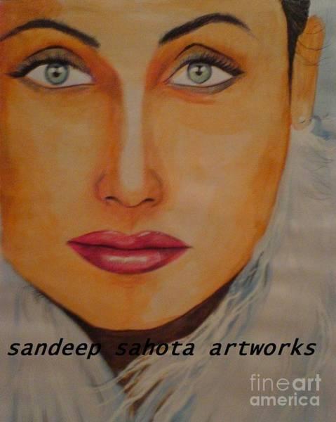 Transformer Painting - Rani Mukerjee by San Art Studio