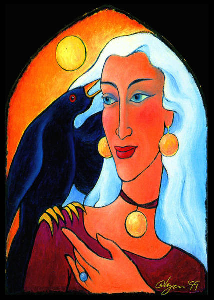 Raven Speaks Art Print
