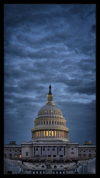 Us Capitol Photograph - Ready To Go by Robert Fawcett
