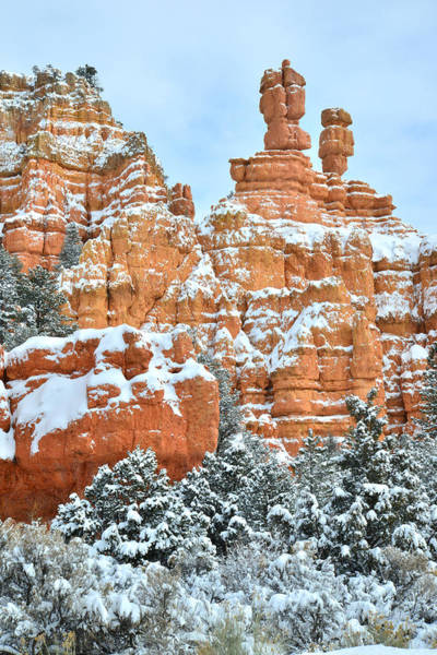 Photograph - Red Canyon Castle by Ray Mathis