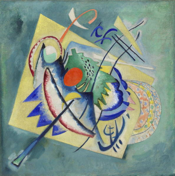 Endless Painting - Red Oval by Wassily Kandinsky