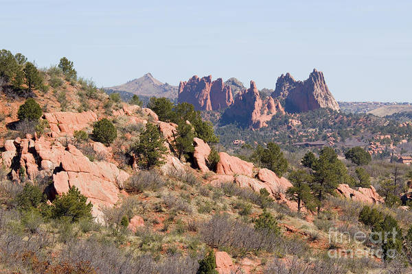 Photograph - Red Rock Canyon Open Space Park And Garden Of The Gods by Steve Krull