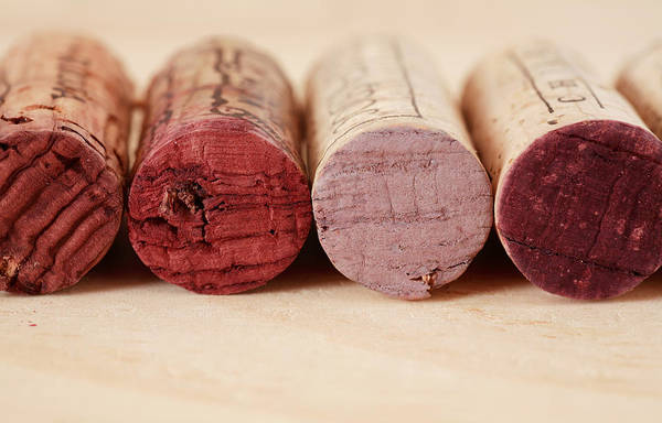 Italian Wine Photograph - Red Wine Corks by Frank Tschakert