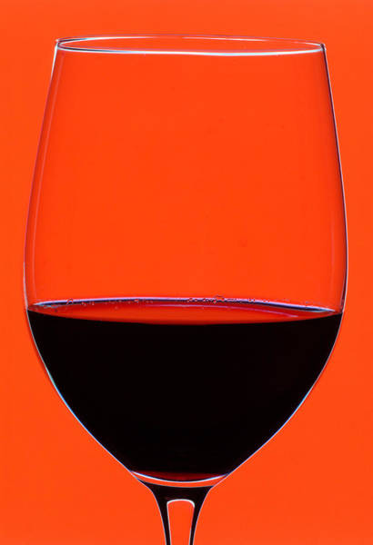 Wine Tasting Photograph - Red Wine Glass by Frank Tschakert