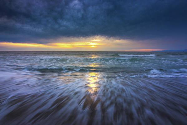 Redondo Beach Sunset Art Print
