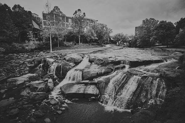 Wall Art - Photograph - Reedy River Running Through Greenville, South Carolina by Library Of Congress