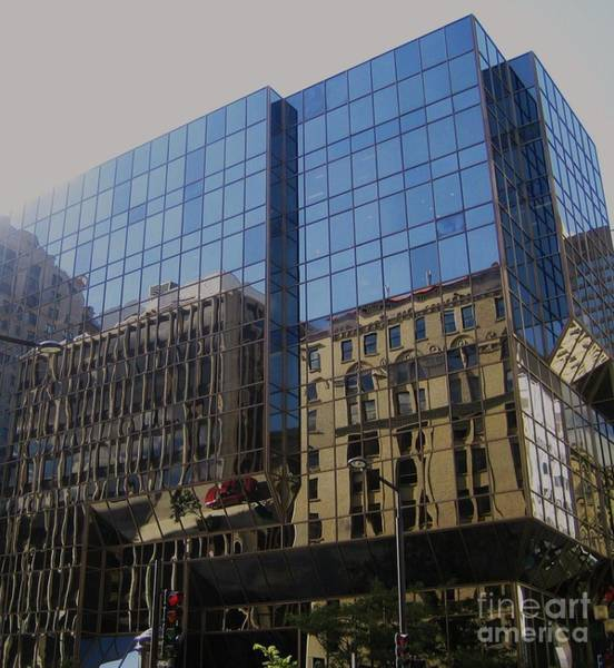 Montreal Street Scene Wall Art - Photograph - Reflections Of Montreal by Reb Frost